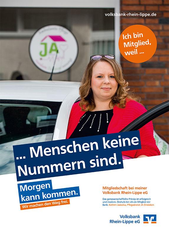 Kathrin Jaskolka, Pflegedienst JA Dinslaken