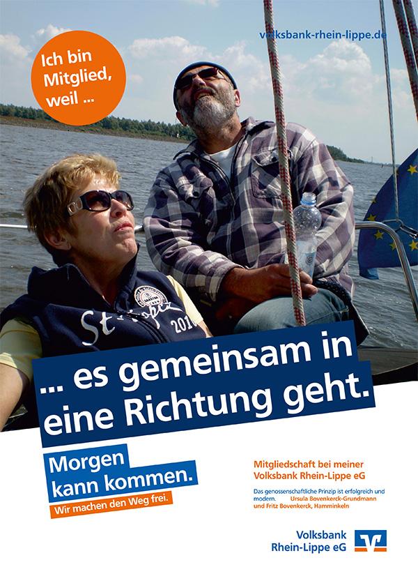 Ursula Bovenkerck-Grundmann und Fritz Bovenkerck, Hamminkeln