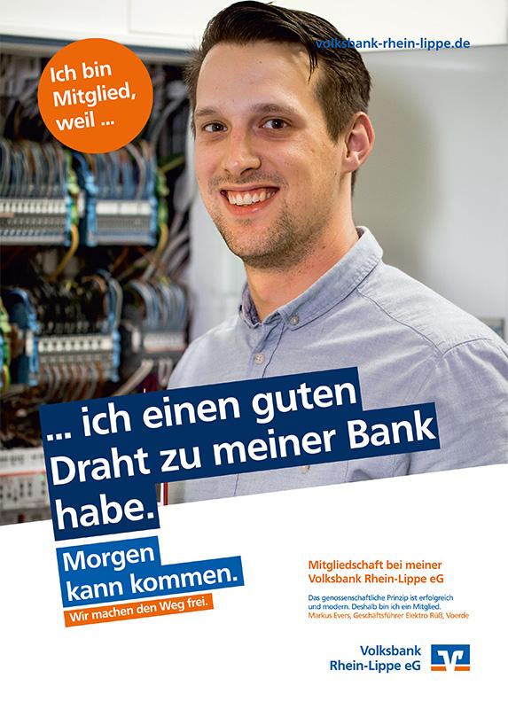Markus Evers, Geschäftsführer Elektro Rüß, Voerde